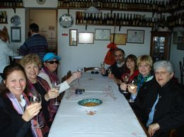 We sampled 3 different sparkling wines., Katherine S - April 2010