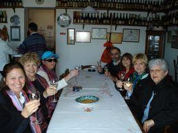 We sampled 3 different sparkling wines., Katherine S - April 2010