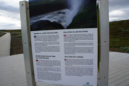 Gullfoss sign , Maria R - June 2012