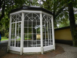 I am 16, going on 17. . . . The glasshouse gazebo where Liesel and Rolf did there immortal dance and song routine. Surely all those aficionados will recognise this stately institution. , kimhayes001 - October 2016