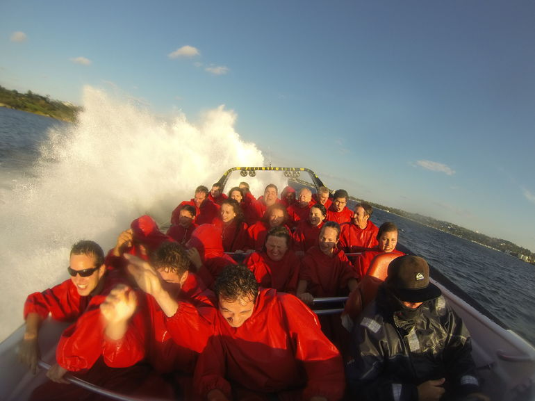 Great day for a Jet Boat Thrill Ride -