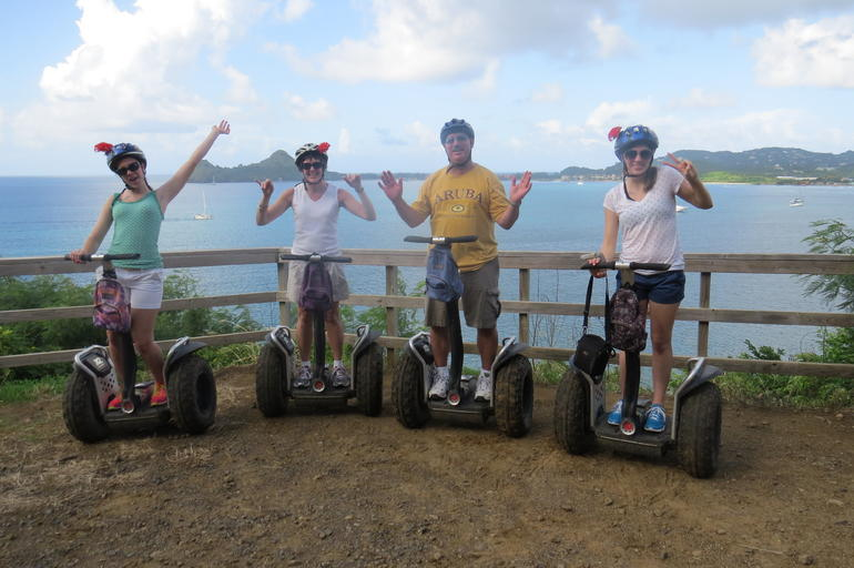St Lucia Shore Excursion: Segway Nature Trail Experience photo 4
