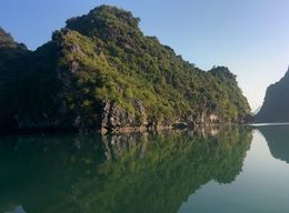 Cruising around Ha Long Bay , Sindee-Rose W - February 2016
