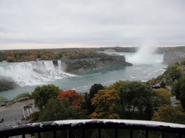 This was the view from the room at Sheraton Hotel in Canada, where we had our lunch. Awesome. , Gordon R - October 2012