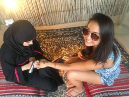 My friend getting her henna tattoo :), vbellanti - October 2016