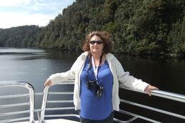 ON board the boat enjoying the ride , Hermann D - December 2012