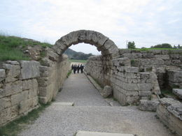 Archaeological site of Olympia. , rovisco - November 2011
