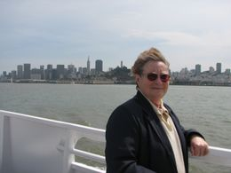 with San Francisco skyline in the background - August 2009