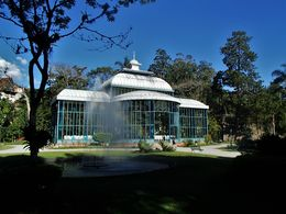 The Crystal Palace was built in 1879 and now serves for cultural events. , delalando - April 2016