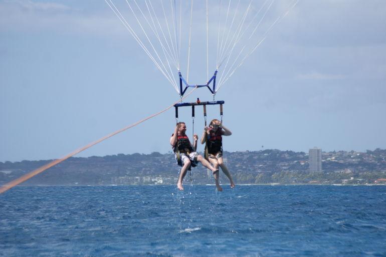 Parasailing on Maunalua Bay - Oahu