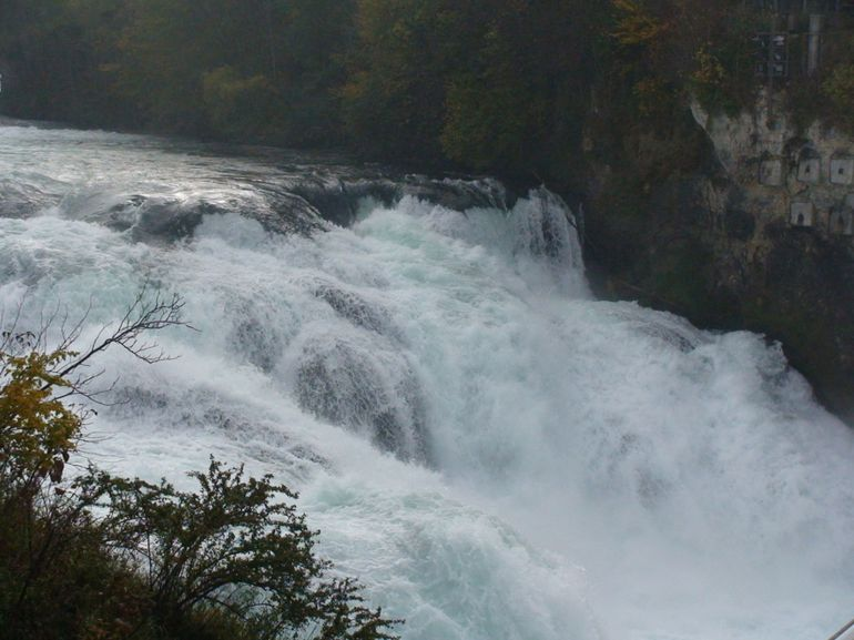 Rhine Falls from top - Zurich