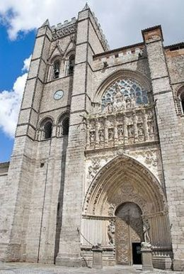 Cathedral in Salamanca , Tania - February 2016