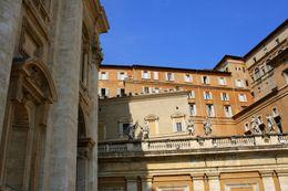 Sistine Chapel, exterior - November 2011