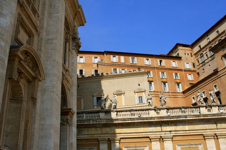 Sistine Chapel, exterior - Rome