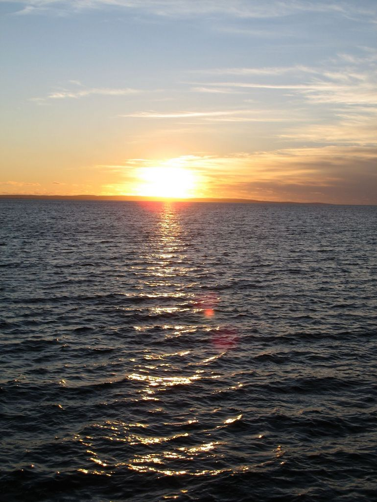 Sunset over the bay - Perth