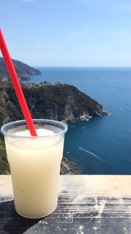 Limone Granita at the top of the hike! , nmontag3 - September 2017