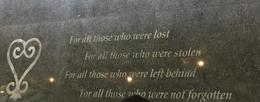 Seen at the entrance of the African Burial Ground. , Brenda J - September 2017