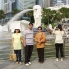Photo of Singapore Private Tour: Singapore City Half-Day Tour All of us in front of the Merlion