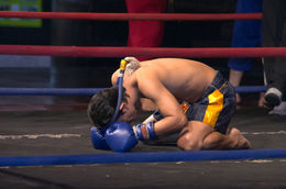 Praying fighter (Muay Thai, kickboxing) - June 2011