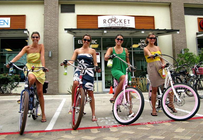 Biking Around Town -