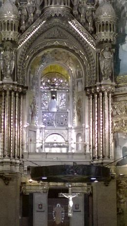 Visiting the Black Madonna at Montserrat , yahyamet - June 2014