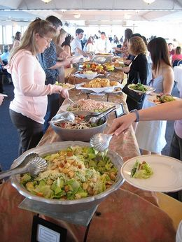 The buffet was so great, with lots of options for everyone. - April 2008