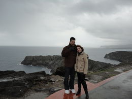 A captivating and inspiring place. My husband Eric and me stopping for a quick visit on our way to the tour at Dali's home in Port Lligat. , Ellyn C - February 2011