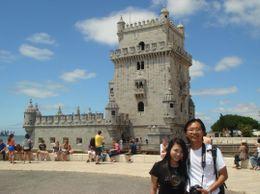 Torre de Belem, Lisbon, Portugal , Chan KW & SM San - July 2011