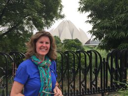 Mari Eli in Lotus Temple , MARI E L D - August 2015