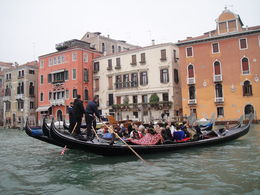 Gondolas on the grand canal, Blanca - June 2014