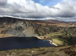 The view to the guinness lake from the Wicklow Mountains. , Daniela S - April 2016