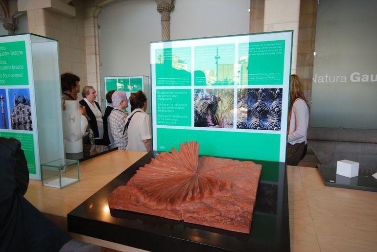 La Sagrada Familia Gaudi Exhibit - Barcelona
