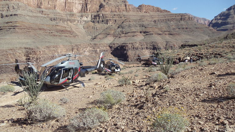 Landing Site - Las Vegas