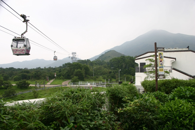 Lantau Island Cable Car -