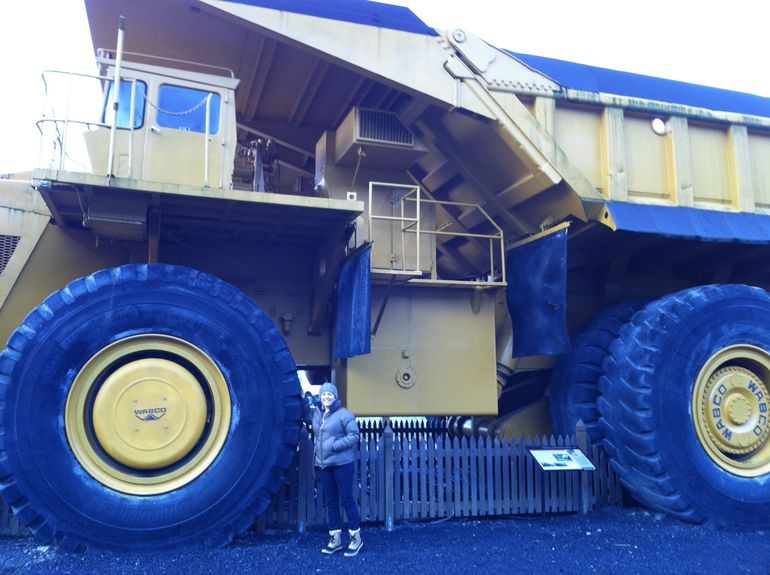 Massive Mining Truck - Squamish