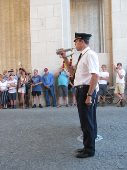 Buglers during the Last Post Ceremony at Menin Gate , Erin T - August 2013