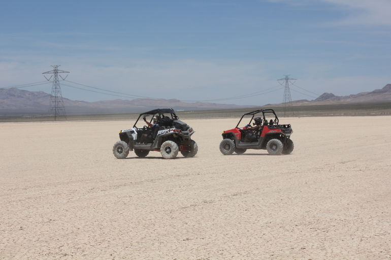 More Dry Lake Bed Driving - Las Vegas