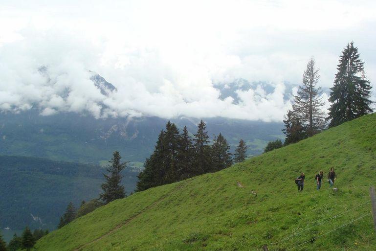 On the Way to Mount Pilatus - Zurich