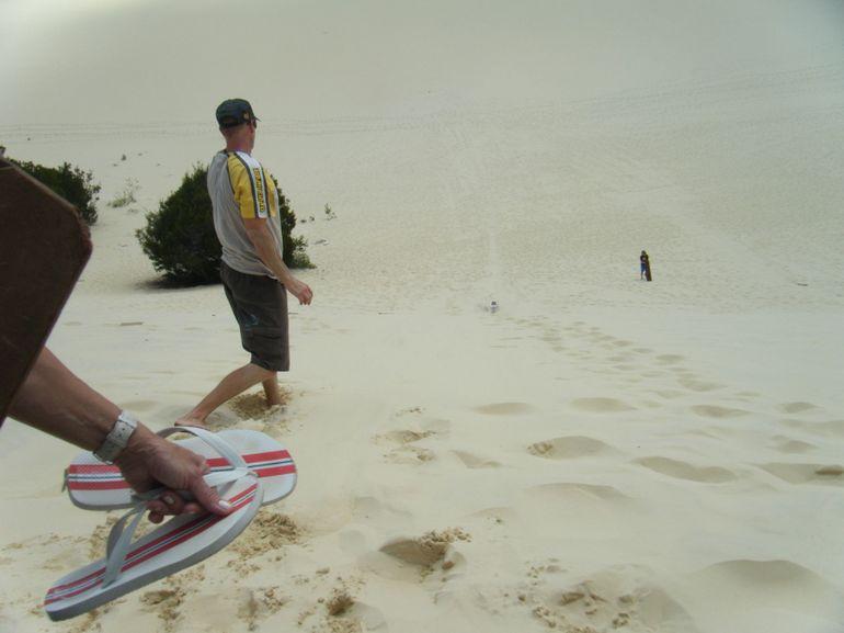 Our guide Nev, Moreton Island - Brisbane