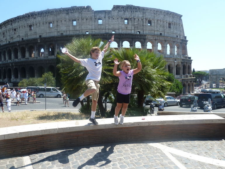 Ancient Rome: the Colosseum. - Rome