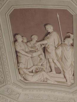 dans une des galeries du Vatican , BLEUX-DERLY V - June 2014