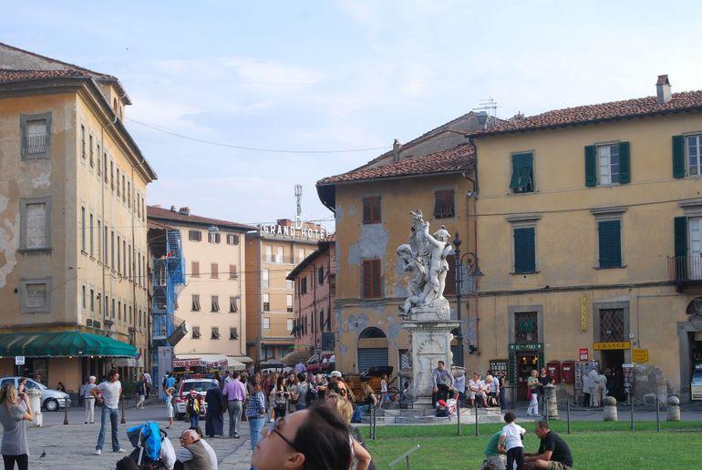 Pisa town - Florence