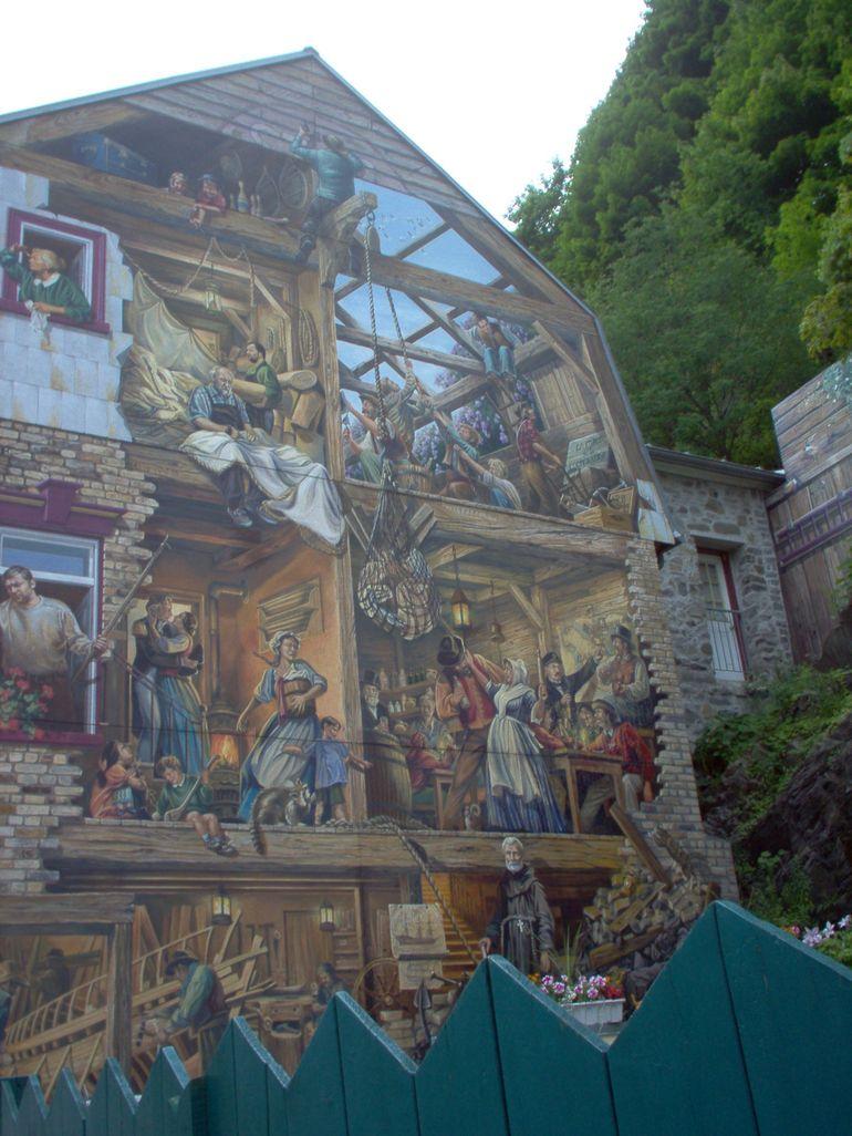 Quebec Frescoes - Montreal