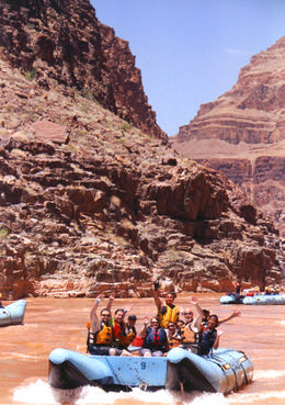 Midway through our journey - too much fun! Our Guide TJ is the best. , Rick D - July 2012