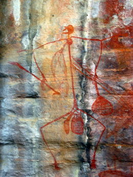 Great painting at both Ubirr and Nourlangie, lots of stories to tell! , Patricia P - January 2011