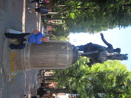 me in front of Paul Revere's Statue , Levada C - October 2014