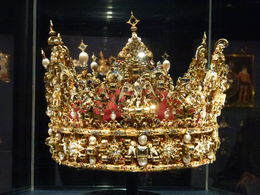 Joyas de la Corona Dánesa en Castillo Rosenborg , Luz M. P - June 2015