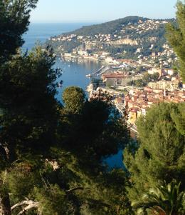 At a view stop just outside of Nice on the way to Eza. Stunning views. , Kevan T - March 2017