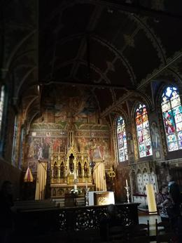 Inside the Gothic style upper chapel of the Basilica of the Holy Blood. , WaiYee L - July 2017