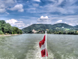 Schloss Schönbühel from the Danube. , Greg - August 2017